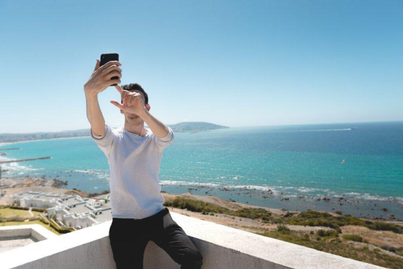 Technologie der Internet-Anbindung ist an Algarve-Stränden oft verbessserungswürdig