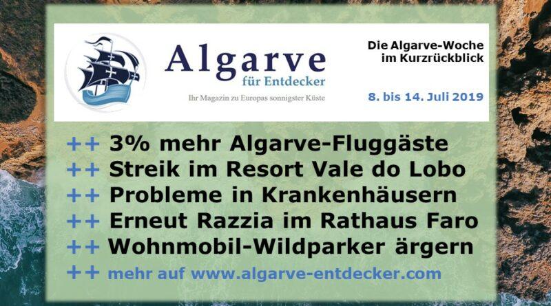 Algarve News und Portugal News aus KW 28 vom 8. bis 14. Juli 2019