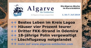 Algarve News und Portugal News aus KW 27 vom 1. bis 7. Juli 2019