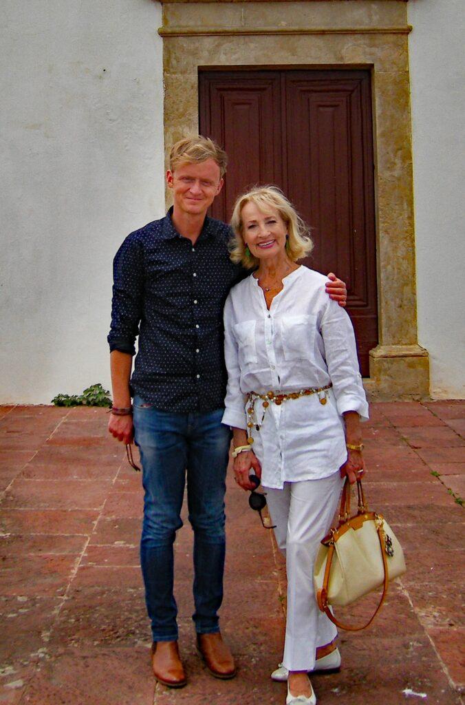 Dagmar Koller und Pierre M. Krause in Albufeira an der Algarve