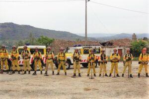 Waldbrandgefahr setzt Notfall-Brigade des Zivilschutzes ANEPC in Portugal in erhöhte Einsatzbereitschaft
