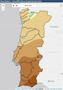 Wasser sparen machen Trockenheit und Dürre in Portugal nötig