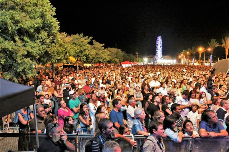 Algarve-Festivals wie in Portimao haben zehntausende von Teilnehmern