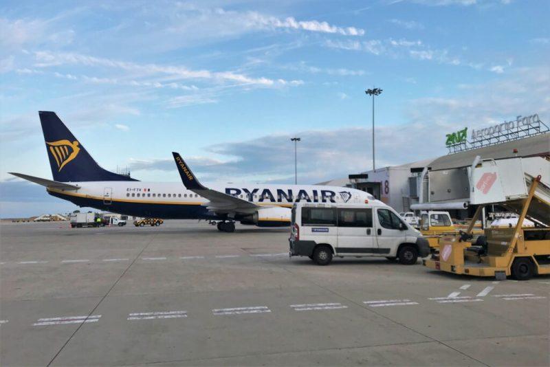 Algarve-Basis von Ryanair in Faro beschäftigt rund 100 Mitarbeiter