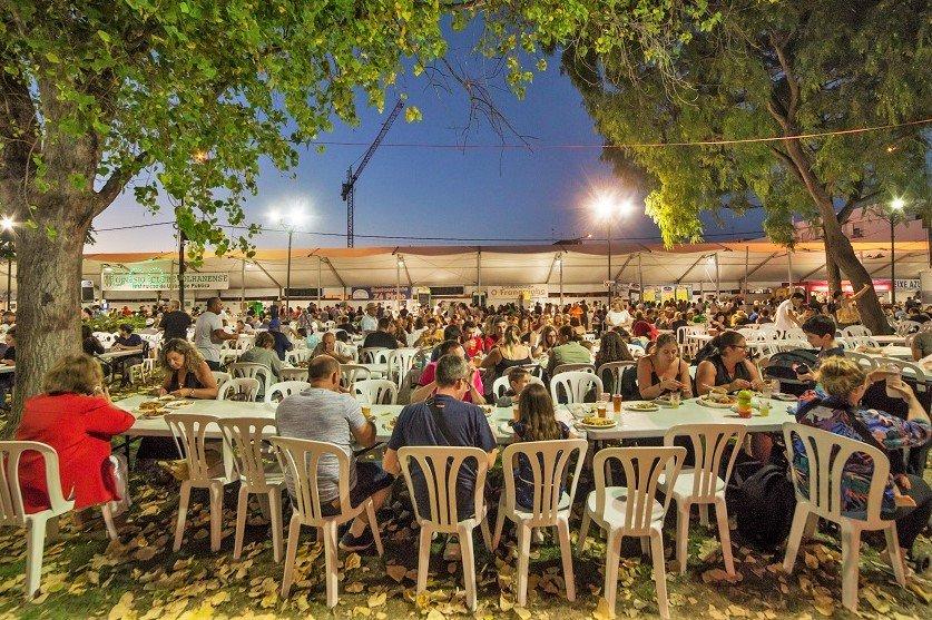 Algarve-August 2019 mit Meeresfrüchte-Festival in Olhão