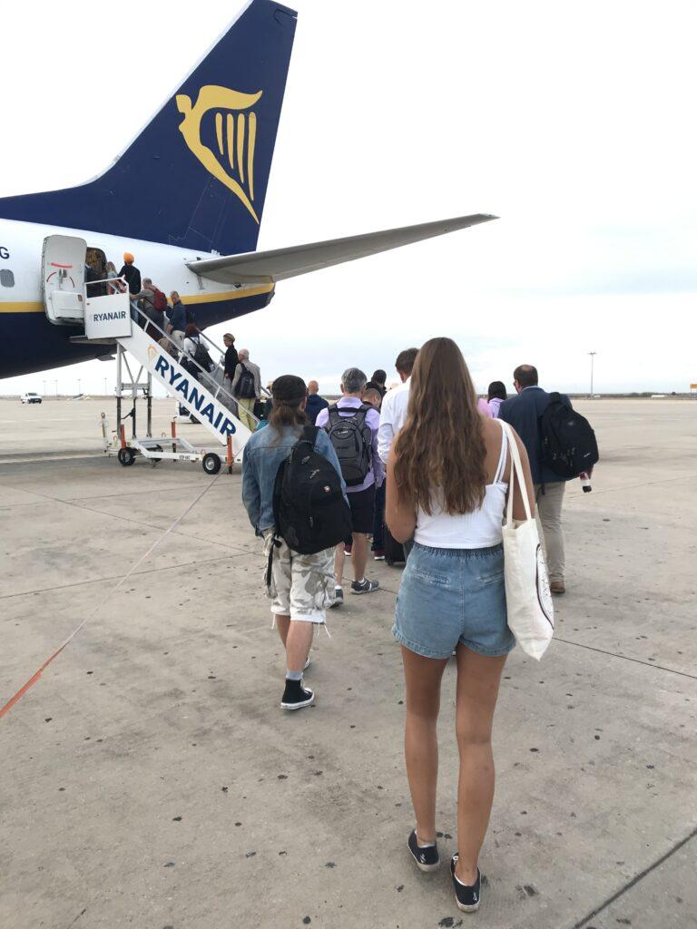 Ryanair-Flugbegleiter und ihr Streik waren am Mittwoch in Faro kaum zu spüren