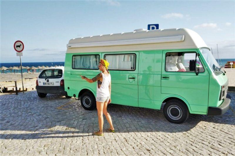 Algarve-Camping mit eigenem Camper Van ist auf offiziellen Plätzen erlaubt