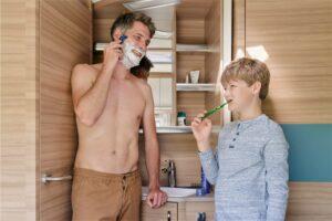 Algarve-Camping sollte auch bei der Körperpflege umweltbewusst betrieben werden