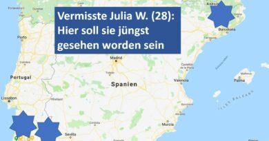 Algarve-Vermisstenfall Julia W. brachte jüngst drei angebliche Sichtungen