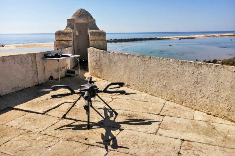 Drogen-Drohnen können an Algarve wie hier in Cacela Velha geortet werden