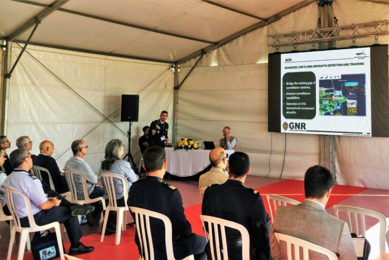 Drogen-Drohnen Thema bei Präsentation von Ortungs-System ALFA an Algarve