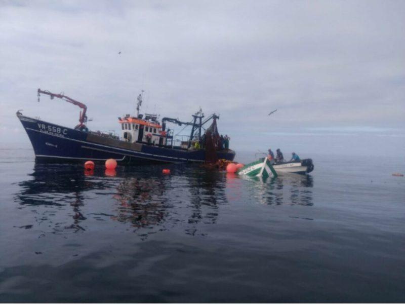 Algarve News zu gesunkenem Fischerboot vor Insel Deserta