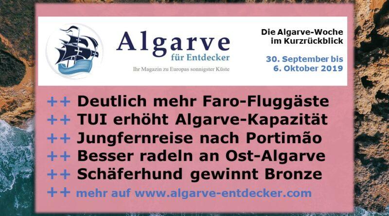 Algarve News und Portugal News aus KW 41 vom 6. bis 13. Oktober 2019