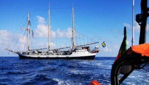 Algarve News zu schwedischem Segelschulschiff vor der Südküste Portugals