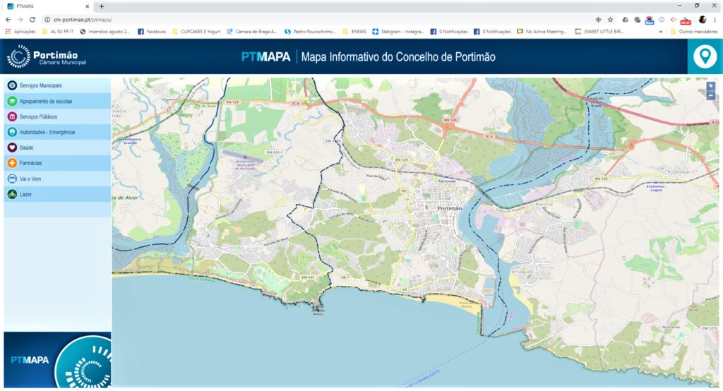 Algarve News zu neuer Infokarte auf der Webseite von Portimao
