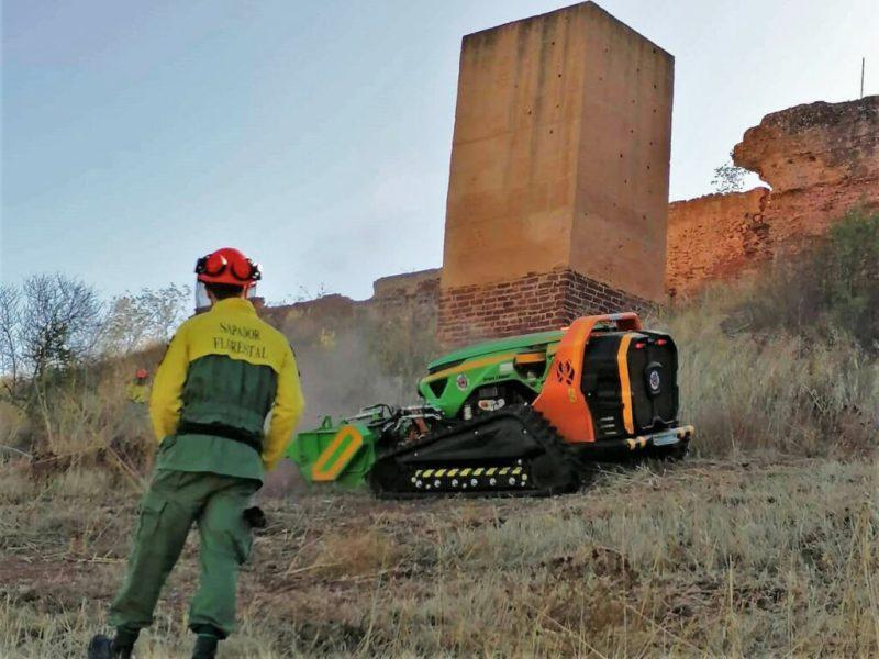Algarve News zu Roboter-Raupe für Brandbekämpfung in Silves
