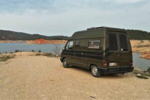 Julia Weinerts Camper Van für die ausgedehnte Europareise