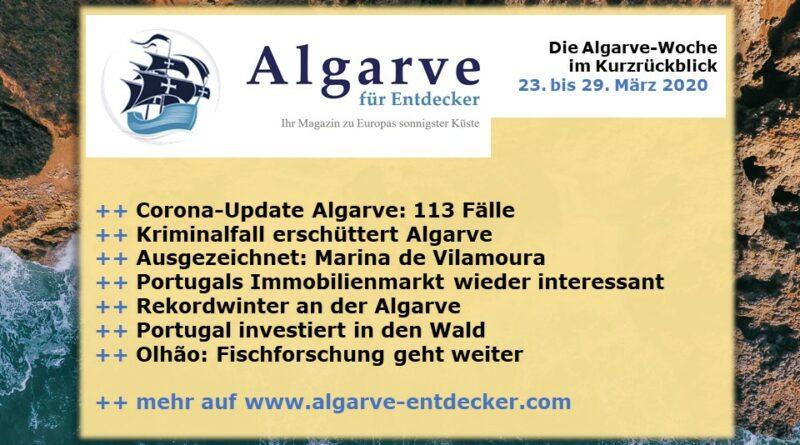 Algarve News: 23. bis 29. März 2020