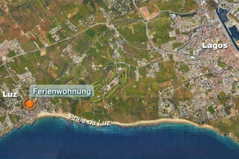 Madeleine McCann verschwand in Praia da Luz bei Lagos