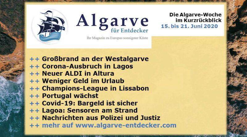 Algarve News: 15. bis 21. Juni 2020