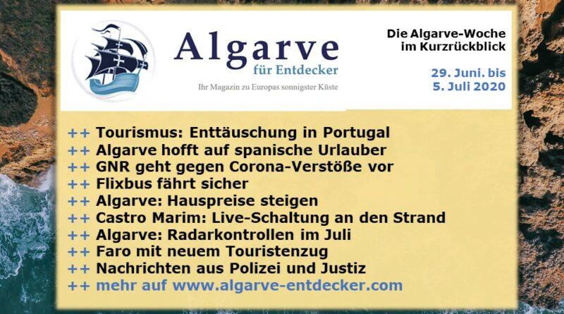 Algarve News: 29. Juni bis 05. Juli 2020