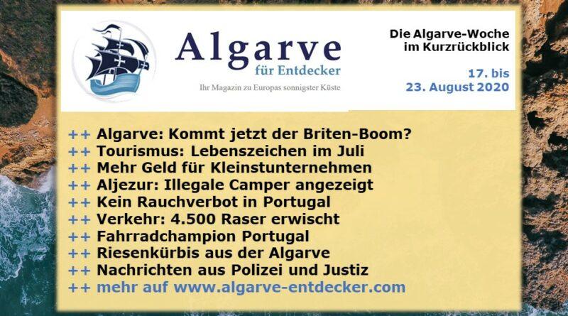 Algarve News: 17. bis 23. August 2020