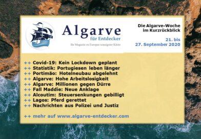 Algarve News: 21. bis 27. September 2020