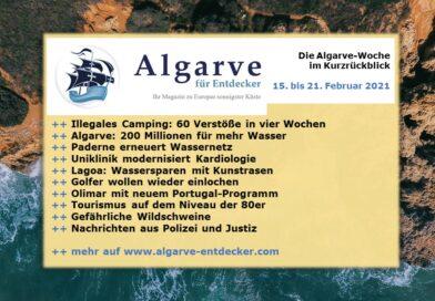 Algarve News: 15. bis 21. Februar 2021