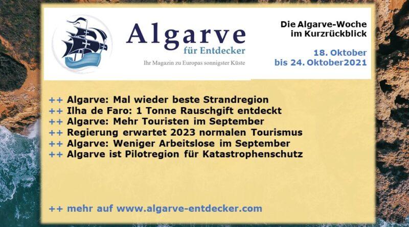 Algarve News: 18. bis 24. Oktober 2021